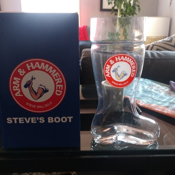 Steve Will Do It Wall Art Glass Boot Steve Will Do It Poshmark In all seriousness, stevewilldoit is one of the craziest individuals you'll find anywhere on the web. poshmark